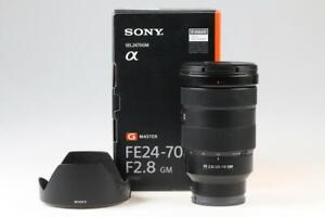 SONY FE 24-70mm f/2,8 GM - SNr: 1901388