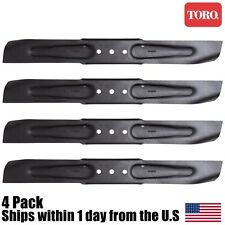 "(4) Toro Genuine Original OEM 21"" Lawn Mower Blade 91-2256-03"