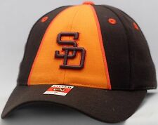 Vintage San Diego Padres Fitted Hat Split Front Cooperstown Collection  SD5023 a712f60380a1