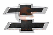 2018 2019 Chevrolet Trax GM Front & Rear Black Bowtie Emblems 42616392