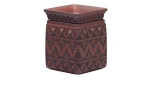 SCENTSY Pueblo Aztec Southwest Style Full Size Wax tart Warmer