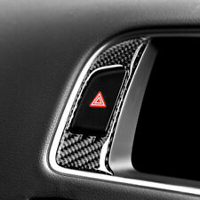 For Audi Q5 8R SQ5 2009-17 RH Carbon Fiber Display Center Control Screen Sticker