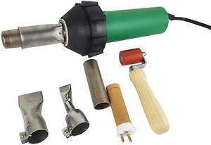 220V 1600W Professional Heat Gun Hot Air Torch Plastic Welding Gun Welder