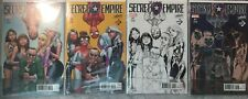 Secret Empire 1 Stan Lee J. Scott Campbell A B C & D Conque Con Variant Set