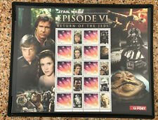 2012 Australia Star Wars Episode Vi Return of The Jedi Sheet Mnh