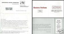 INVITO ENOTECA ITALIANA BOLOGNA ASSOCIAZIONE SOMMELIERS VINI COLLIO LIVON 1984