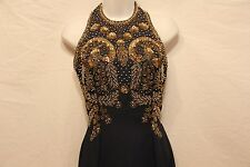 MINKWOOD DEEP NAVY BLUE Beaded Party / Homecoming / Prom / Cocktail DRESS size 2