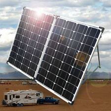 NEW 12v 24 vdc 240W SOLAR FOLDING PANEL KIT caravan camping power mono Portable