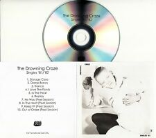 DROWNING CRAZE Singles '81-'82 2018 UK 10-trk promo test CD Simon Raymonde