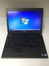 """Dell Precision M4700 Laptop i7-3740QM 2.7Ghz 15.6"""" 1080P 4GB/256GB SSD/NVidia"""