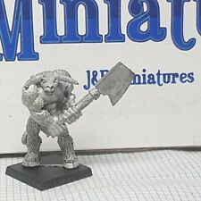 Games Workshop Citadel Warhammer Chaos Beastmen C25 Minotaurs Bhovus AD&D 1986