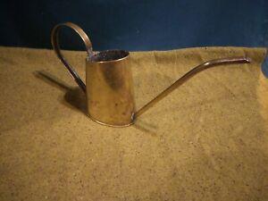 Elegant Vintage Brass Watering Can