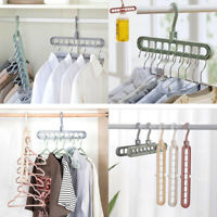9-Hole Magic Hook Hanger Storage 360° Rotate Extendable Foldable Thicken Durable