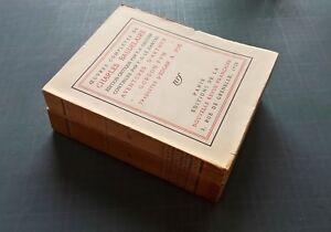 2 Volumes Oeuvres complètes de Charles Baudelaire, NRF,1928