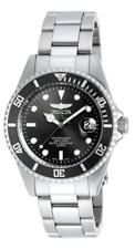 Invicta 8932 Gent's Pro Diver Black Dial SS Bracelet Dive Watch Black Dial