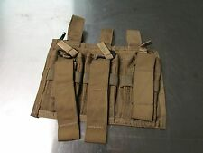 Paraclete Triple Double Mag Pouch Panel MSA Coyote Brown