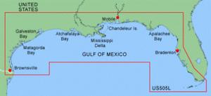 Garmin BlueChart Data Card - MUS505L Gulf of Mexico GPSMAP 178C,192C,198C,492C