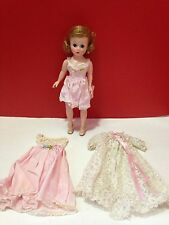 Vintage Madame Alexander Tosca CISSETTE in 700 box with Teddy, Nightgown & Robe