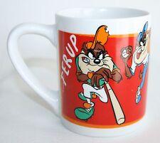 Looney Tunes Tasmanian Taz Baseball Coffee Cup Mug WB Gibson Warner Bros