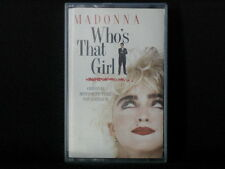 Who's That Girl. Film Soundtrack. Cassette Tape. 1987. Made In The U.S. Madonna
