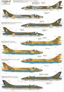 X72214 NEW Xtradecal 1:72 International Hawker Hunter Collection