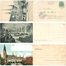 o309 Lübeck, Lot mit 18 Ansichtskarten vor 1945