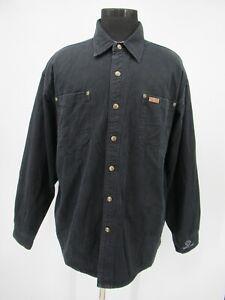 M9581 VTG Carhartt Men's Blanket Line Work Shirt Jacket Size XL