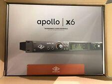 Universal Audio Apollo x6 Rack-Mountable Thunderbolt 3 Audio Interface w/ UAD
