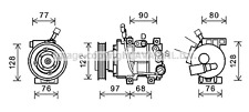 HYUNDAI ACCENT IV AIR-CON COMPRESSOR 2010-