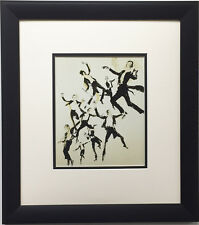 "LeRoy Neiman ""Fred Astaire"" Newly CUSTOM FRAMED Art Print - Dancing Fred Ginger"