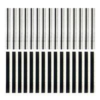 30 StüCk 40 Pin 2,54 Mm Stift- und Buchsenleisten Steckverbinder für Arduin A1L7