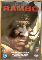 Rambo DVD 2008 First Blood John 4 Action Film Movie with Sylvester Stallone BNIB