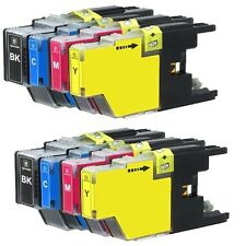 8 PK Ink Cartridges Set fits Brother LC71 LC75 MFC-J280W MFC-J425W MFC-J430W