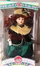 Victorian Rose Genuine Porcelain Girl Doll By Melissa Jane 1997 NEVER OUT OF BOX