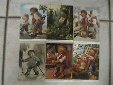 Mecki 6 Ansichtskarten Hörzu Diehl-Film 1803