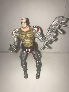 "(used) Marvel Legends Legendary Comic Book Heroes Super Patriot 6"" Action Figure"