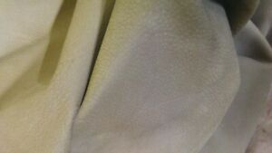 """Italian Cowhide leather skin Cow Nubuck Taupe  30"""" x 60"""" Inches 3 oz"""