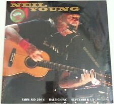 LP - Neil Young ‎– Farm Aid 2014 Raleigh/NC September 13 (MINT) RED