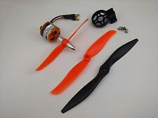 049wP: 1x KV2200 BL Motor w/5030,6035,7040 Props. for RC Aircraft Hawksky JET