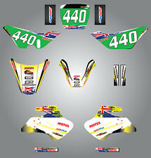 Full  Custom Graphic  Kit -AUSSIE PRIDE - Suzuki JR 50  All years / stickers