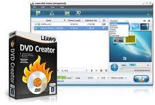 Leawo DVD Creator AVI MP4 WMV MKV HD to DVD Burner Converter 1080p NEW