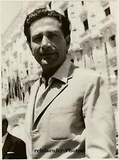 Gualtiero Jacopetti by Z. Hirschler, Orig.Photo ca 1970