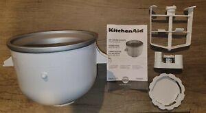 KitchenAid KICA  Ice Cream Maker Attachment -- excellent condition