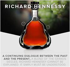 """HENNESSY """"Richard"""" Baccarat Kristall Schöne Cognac Flasche!!"""