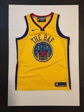 Nike NBA Golden State Warriors Stephen Curry  Men's Swingman Jersey L* No Number