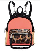 Steve Madden Btanya Mini Backpack Girls Bag Coral Multi Color Black
