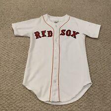 VTG Boston Red Sox 1980s Sewn MLB Baseball Jersey Men's Medium