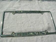 Chuck Colvin FORD Oregon Dealer License Plate Frame Metal (McMinnville Oregon )