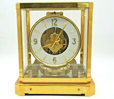 FULLY SERVICED 1960s JAEGER LECOULTRE 528 ATMOS CLOCK #122000 SWISS TIME WORKING