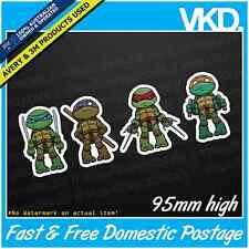 TMNT Sticker/ Decal - Teenage Mutant Ninja Turtles Car Dab Meme Pokemon Cute